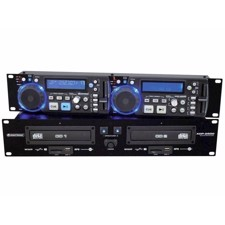 OMNITRONIC XDP-2800 Dual CD/MP3 Player