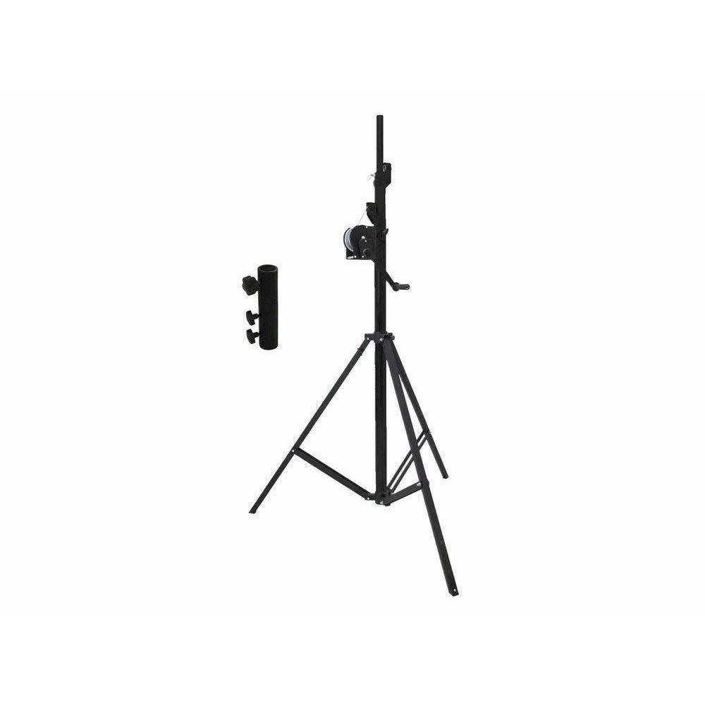 Kb Eurolite Set Stt 40085 Winch Stand Tvgs Black Stv 3529 Adap
