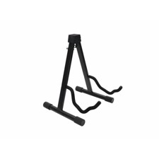 DIMAVERY Guitar Stand foldable bk