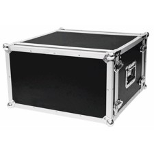 ROADINGER Effect rack CO DD, 6U, 38cm deep, black