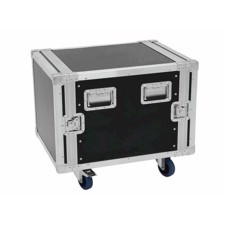 Flightcase rack. 10 unit. 55 cm. Professionel kvalitet. Med hjul