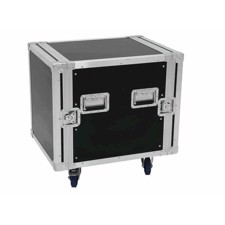 Flightcase rack. 12 unit. 55 cm. Professionel kvalitet. Med hjul