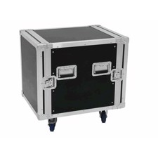 Flightcase rack. 16 unit. 55 cm. Professionel kvalitet. Med hjul