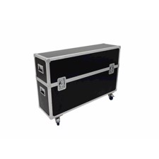 ROADINGER Flightcase 2x LCD ZL50