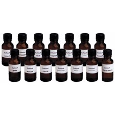 EUROLITE Fog fragrance set with all 14 types