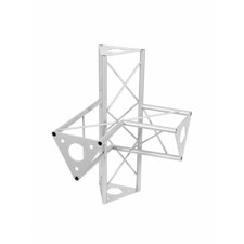 DECOTRUSS SAC-44 corner 4-way r+h silver