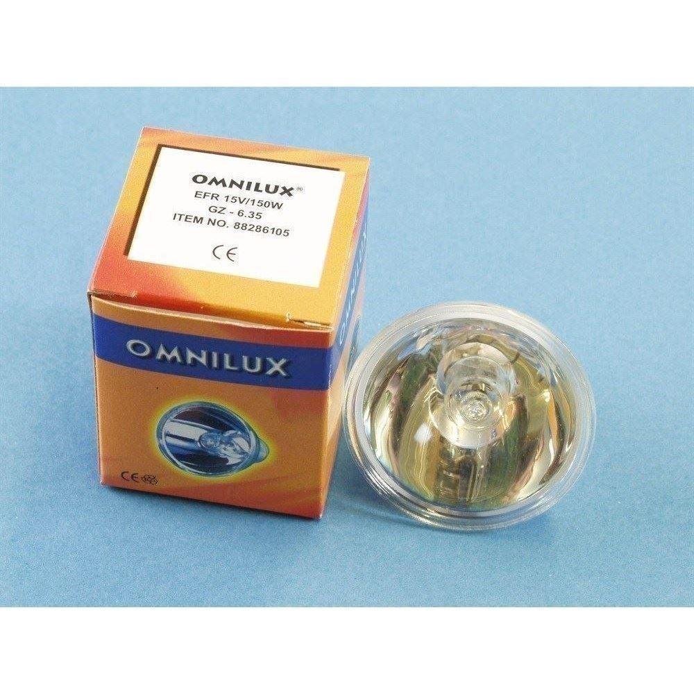OMNILUX EFR 15V//150W GZ-6,35 500h Reflektor
