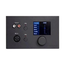 Audac All-in-one digital væg panel for R2 & M2, Sort