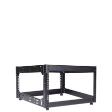 Caymon 19 rack åben ramme 500 mm dyb, 6 unit