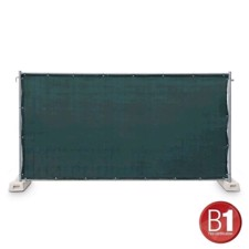 Adam Hall Fence Panel Gauze type 800 1.76 x 3.41 m, with eyelets, green - 0159 X BAU 4