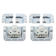 Adam Hall Bag of 2 Butterfly latch short cranked 14 mm deep with split dish - SPLIT-LID