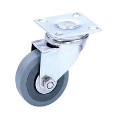 Guitel Swivel Castor 50 mm with grey wheel - 3701
