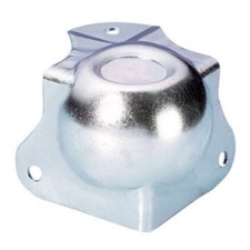 Adam Hall Ball Corner medium cranked 30 mm with integrated Corner Brace 42,5 mm with Stacking Dimple - 41261