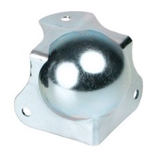 Adam Hall Ball Corner medium cranked 30 mm with integrated Corner Brace 42,5 mm - 41262