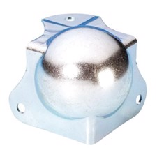 Adam Hall Ball Corner medium cranked 30 mm with integrated Corner Brace 40 mm - 4126