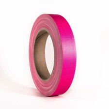 Adam Hall Gaffer Tapes Neon Pink 19mm x 25m - 58064 NPIN