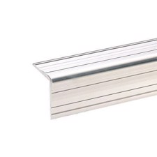 Adam Hall Aluminium Case Angle 33 x 33 mm with Rivet Channel - 6110