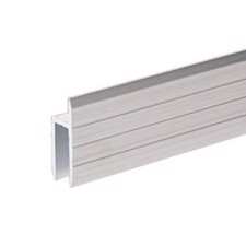 Adam Hall Aluminium h-Section for 7 mm Rack Doors - 6126