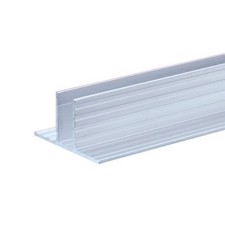 Adam Hall Aluminium Channel for 9.5 mm Dividing Walls - 6230