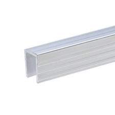 Adam Hall Aluminium Capping Channel for 9.5 mm Dividing Wall - 6240