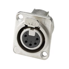 Adam Hall Chassis connector XLR 5-PIN female D-type - 7892