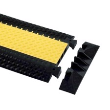 Defender End Ramp for 85002 Cable Protector 3-channel - 3 ER