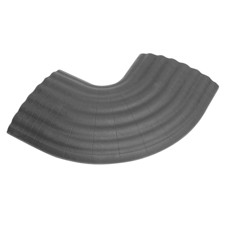 Defender 90° Curve grey for 85160 Cable Duct 4-channel - Office C GREY