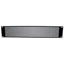 "Adam Hall 19"" U-shaped ventilation panel with round holes, 2U - 87222 VR"