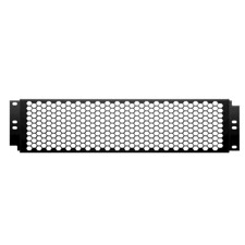 "Adam Hall 19"" Cover with punched hole front, 2U, coarse - 87446"