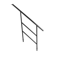 Bütec Handrail for Modular Stairs, Steel for 3-4 stairs - 5000 Z 003