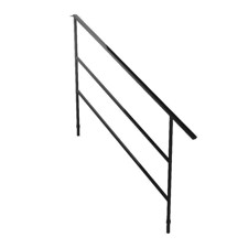 Bütec Handrail for Modular Stairs, Steel for 5 stairs - 5000 Z 015