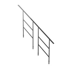 Bütec Handrail for Modular Stairs, Steel for 7 stairs - 5000 Z 018