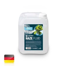 Cameo Haze fluid for fine fog density and long standing time, 5 L oil-free - HAZE FLUID 5L