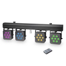 Cameo Compact 28 x 8 W QUAD colour LED lighting system incl. transport case - Multi PAR 3