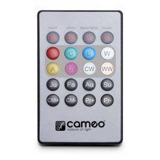 Cameo Infrared remote control for FLAT PAR CAN projector - FLAT PAR CAN REMOTE