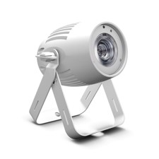 Cameo Compact Spotlight with 40W RGBW LED in White Housing - Q-SPOT 40 RGBW WH