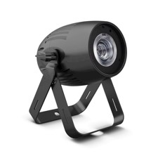 Cameo Compact Spotlight with 40W RGBW LED in Black Housing - Q-SPOT 40 RGBW