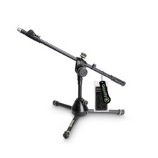 Gravity Short Heavy Duty Microphone Stand with Folding Tripod Base - MS 3122 HDB
