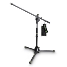 Gravity Short Microphone Stand with Folding Tripod Base and 2-Point Adjustment Boom - MS 4221 B