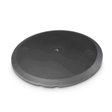 Gravity Round Cast Iron Base for M20 Poles - WB 123 B