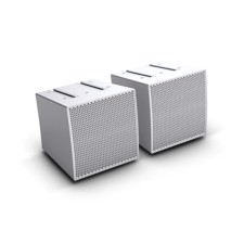 LD Two Array satellites for the CURV 500® Portable Array System, white - CURV 500 S2 W