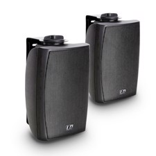 "LD 4"" 2-way Wall Mount Speaker black (pair) - Contractor CWMS 42 B"