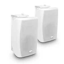 "LD 4"" 2-way Wall Mount Speaker 100 V white (pair) - Contractor CWMS 42 W 100 V"