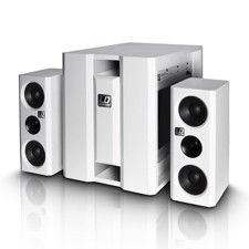 LD Compact active PA system white - DAVE 8 XS W