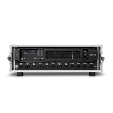 "LD 4-Channel Dante™ DSP Power Amplifier and Patchbay in 19""Rack Case - DSP 44 K RACK"
