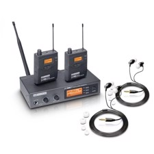 LD Trådløs In-Ear system BUNDLE - MEI 1000 G2 med 2 x Belt Pack og 2 x In-Ear Headset (823-832 MHz, 863-865 MHz)