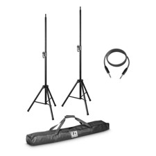 LD 2 x speaker stand with transport bag and speaker cable 10 m for STINGER MIX 6 (A) G2 - STINGER MIX 6 G2 SET 2