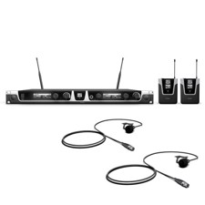 LD Systems U508 BPL 2 Wireless Microphone System with 2 x Bodypack and 2 x Lavalier Microphone