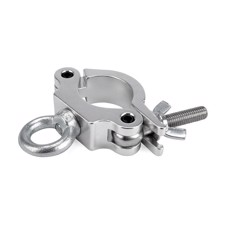 Riggatec Halfcoupler Small Silver with ring max. load 170kg (48 - 51 mm) - RIG 400 200 085