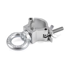 Riggatec Halfcoupler Small Silver with Eyelet max. 75kg (32 - 35 mm) - RIG 400 200 965
